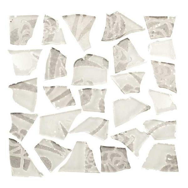 Mosaïque tesselles rétro - 100 g, 2 mm, blanc
