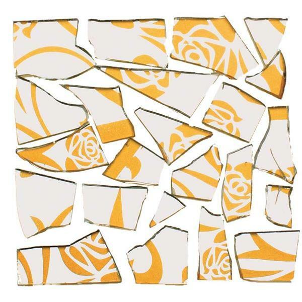 Mosaïque tesselles rétro - 100 g, 2 mm, miroir/or