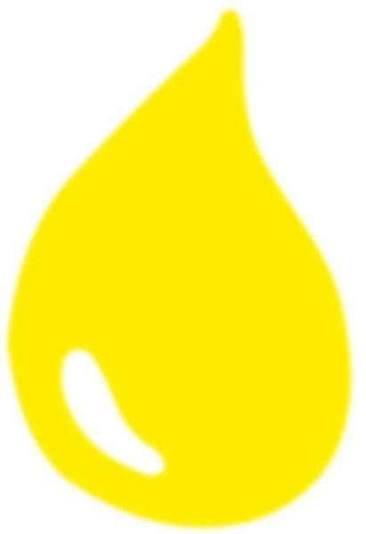 Marmorierfarbe - 20 ml, neongelb