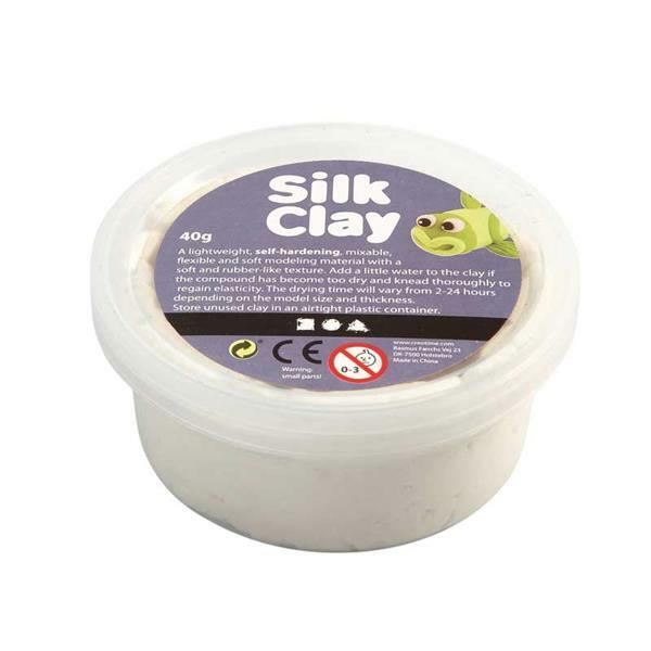 Silk Clay ® - 40 g, wit