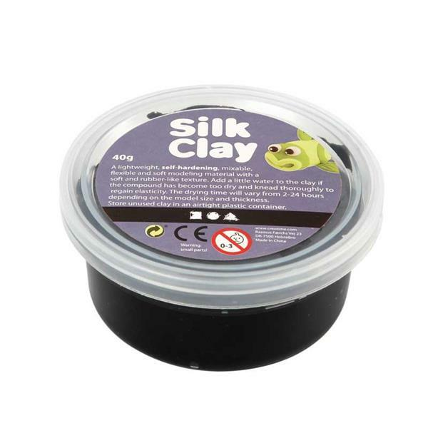 Silk Clay® - 40 g, zwart
