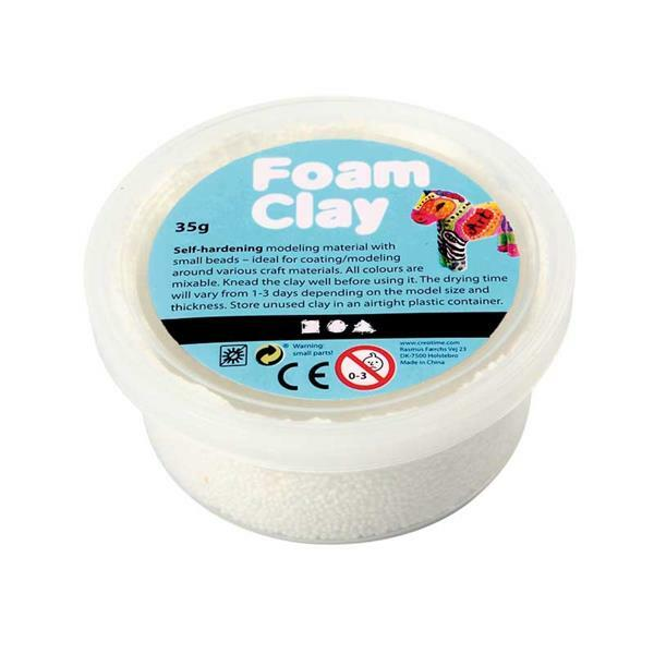 Foam Clay® - 35 g, wit