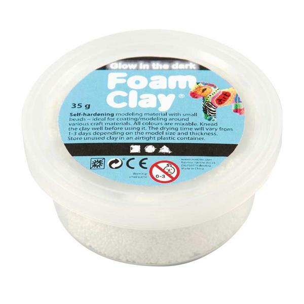 Foam Clay ® - 35 g, glow in the dark