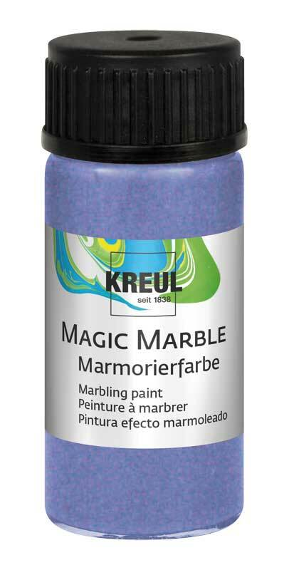 Marmerverf METALLIC - 20 ml, metalic-violet