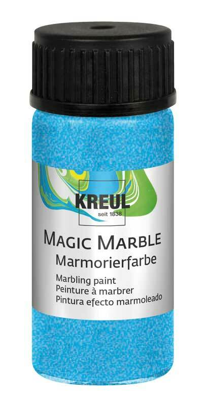 Marmorierfarbe METALLIC - 20 ml, metallic-blau