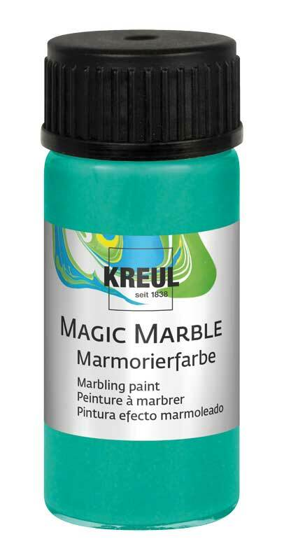 Marmorierfarbe METALLIC - 20 ml, metallic-grün