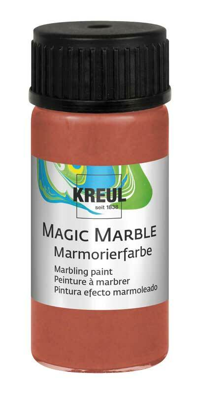 Marmorierfarbe METALLIC - 20 ml, metallic-kupfer