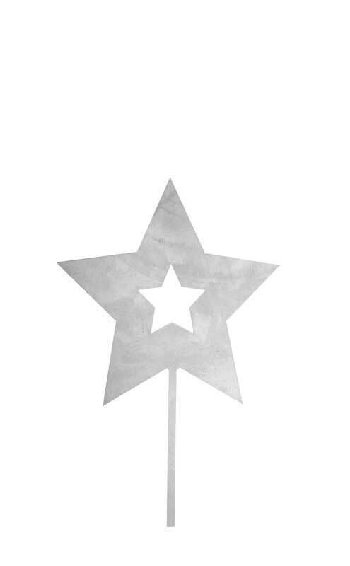Stern aus Metall, 160 mm