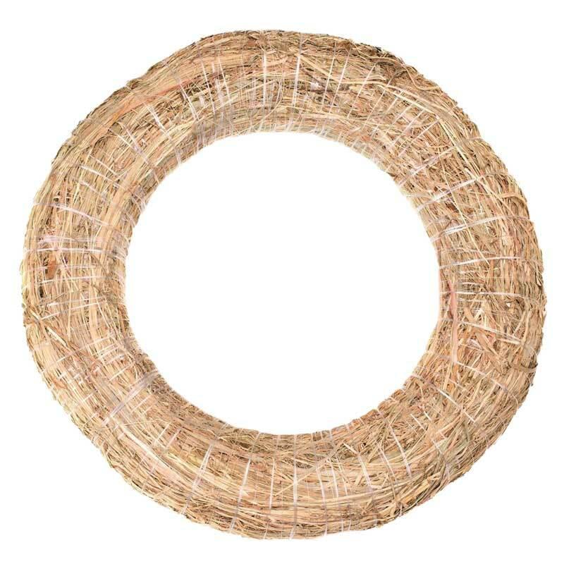 Couronne de paille, Ø 40 x 8 cm