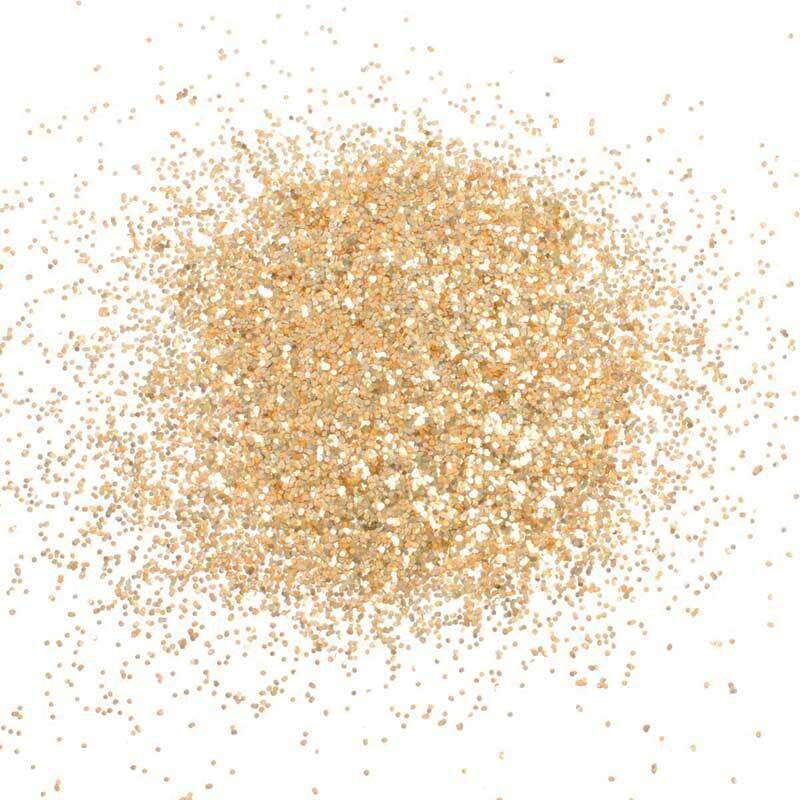 Cosmetische glitter - 1 g, goudkleurig