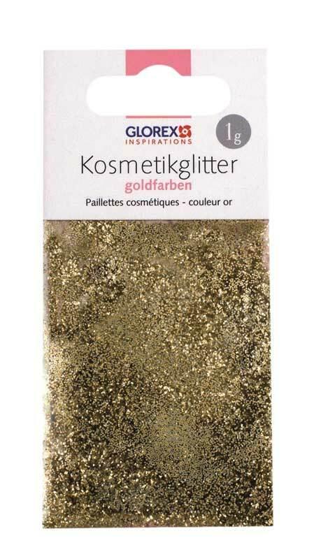 Paillettes cosmétiques - 1 g, dorées