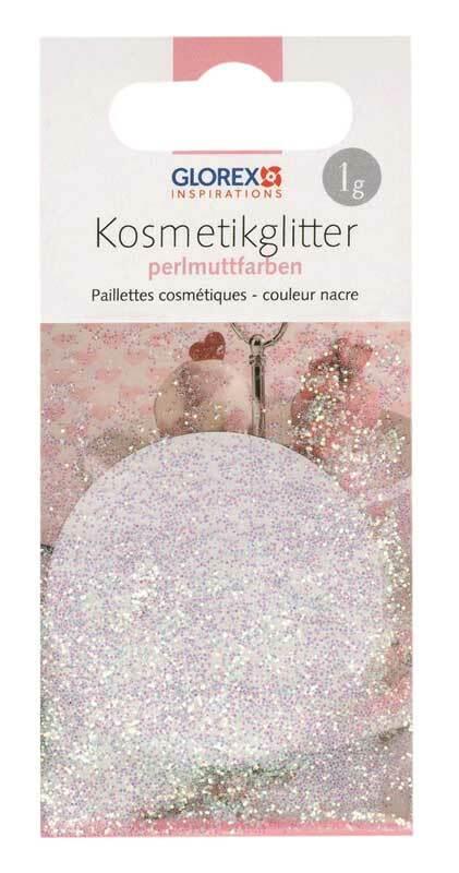 Cosmetische glitter - 1 g, parelmoerkleur