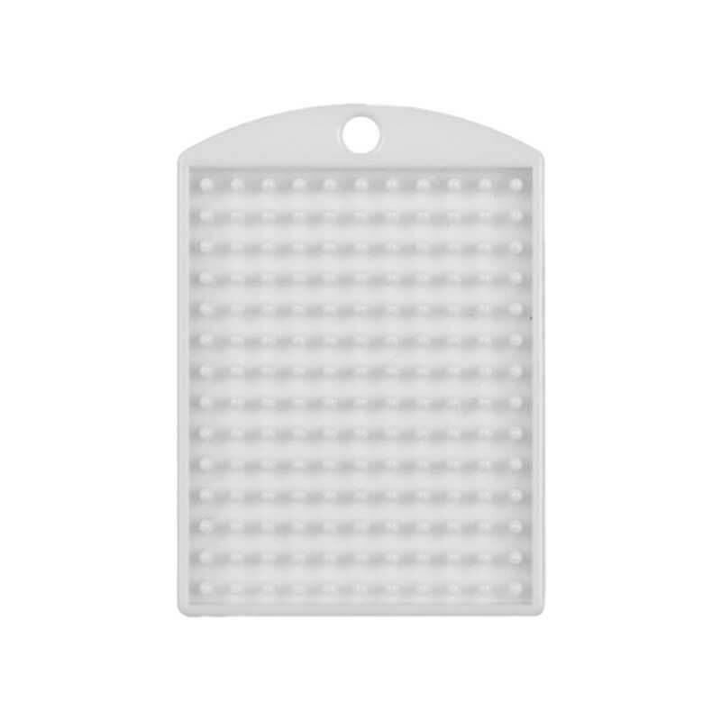 Pixel - Medaillon, weiß