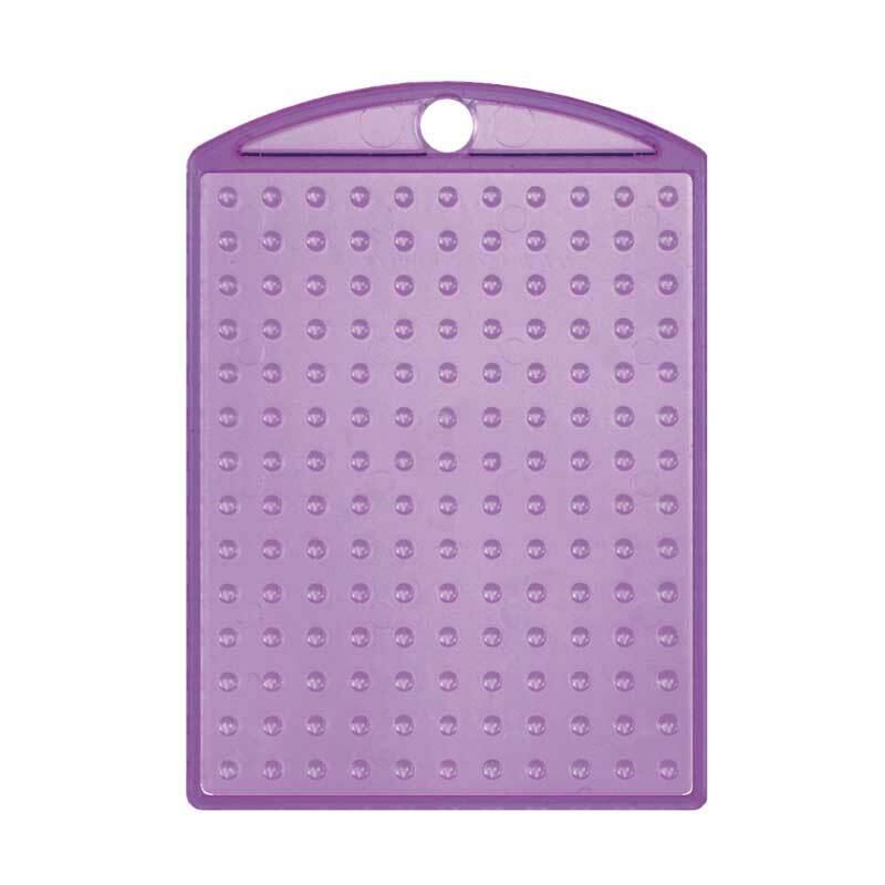 Pixel - Medaillon, violett