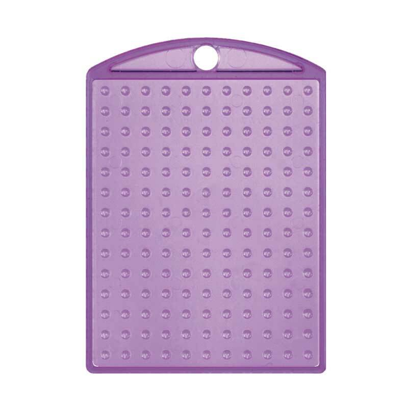 Pixel - medaillon, violet