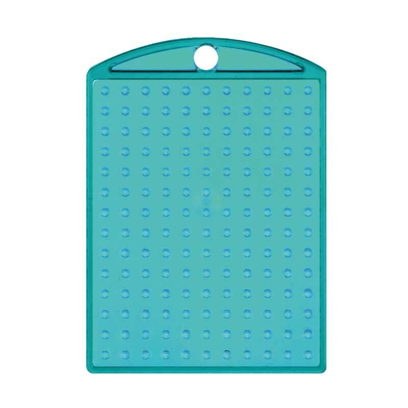 Pixel - Médaillon, turquoise