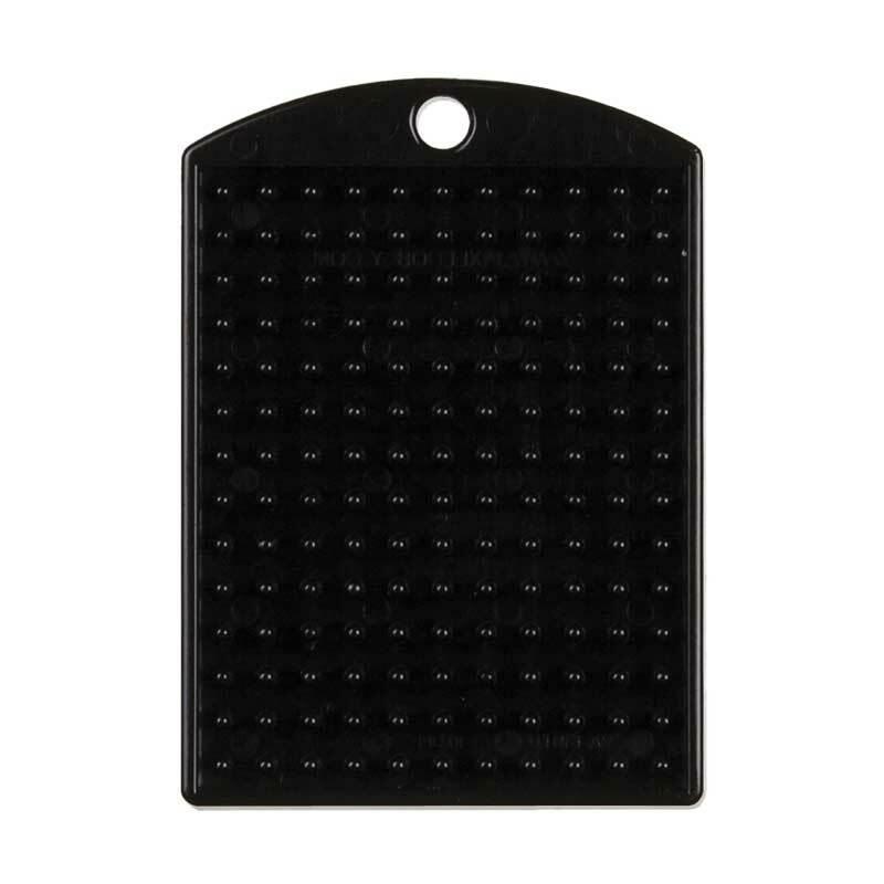 Pixel - medaillon, zwart