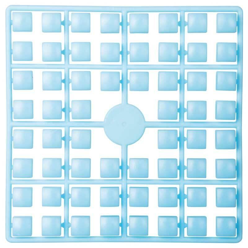 XL pixel - stenen, lichtblauw