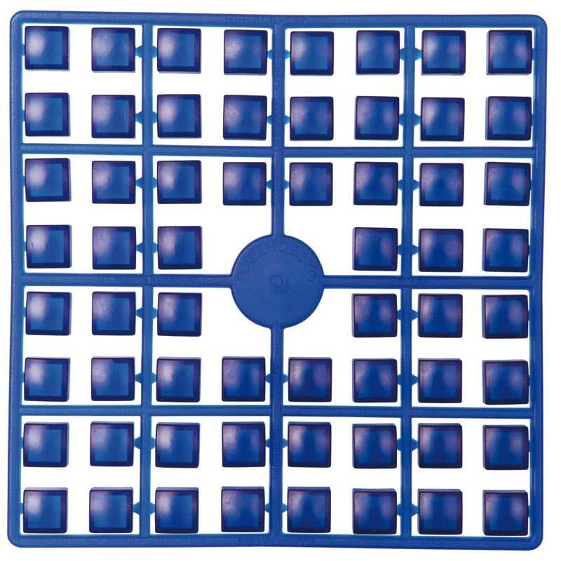 XL Pixel - mosaïques, bleu foncé