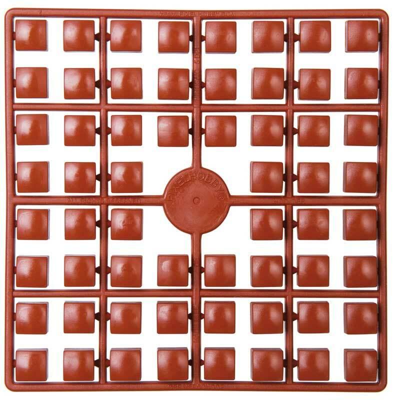 XL pixel - stenen, lichtbruin