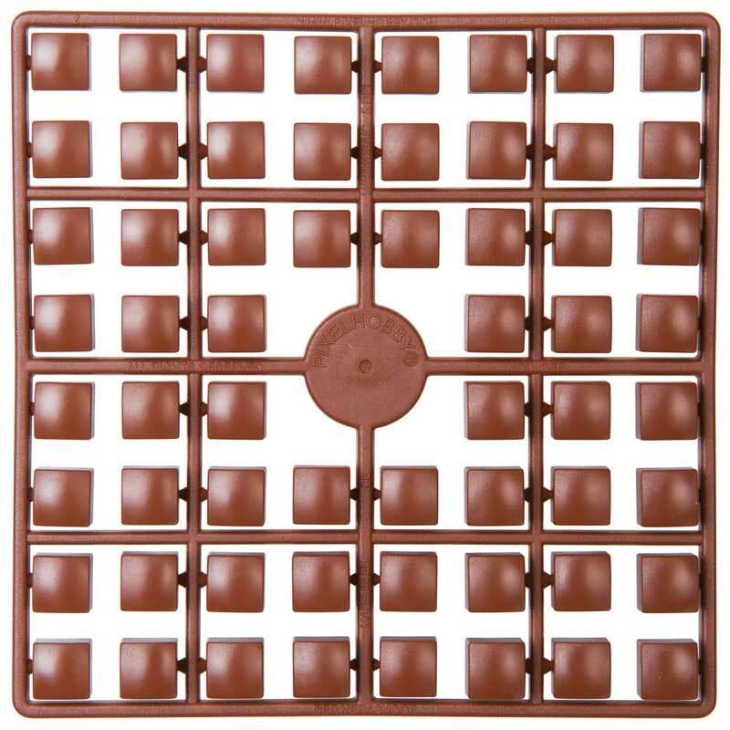 XL Pixel - Steine, dunkelbraun