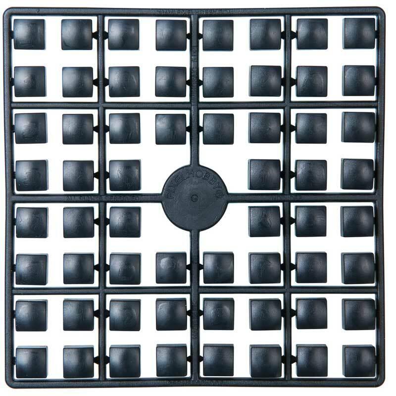 XL pixel - stenen, zwart