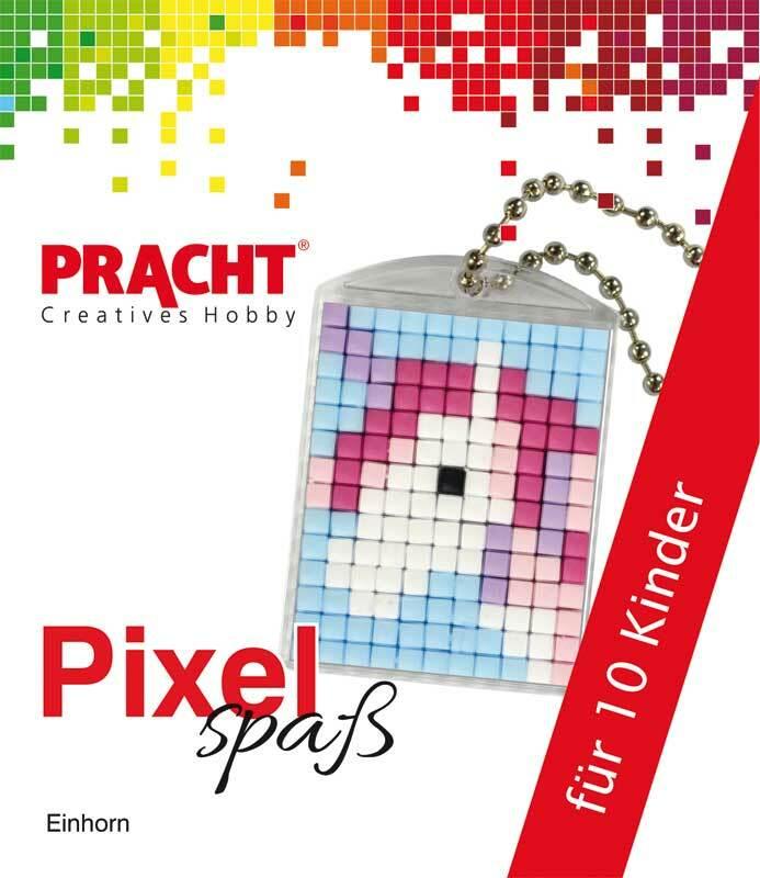 Pixelset voor 10 kinderen - eenhoorn