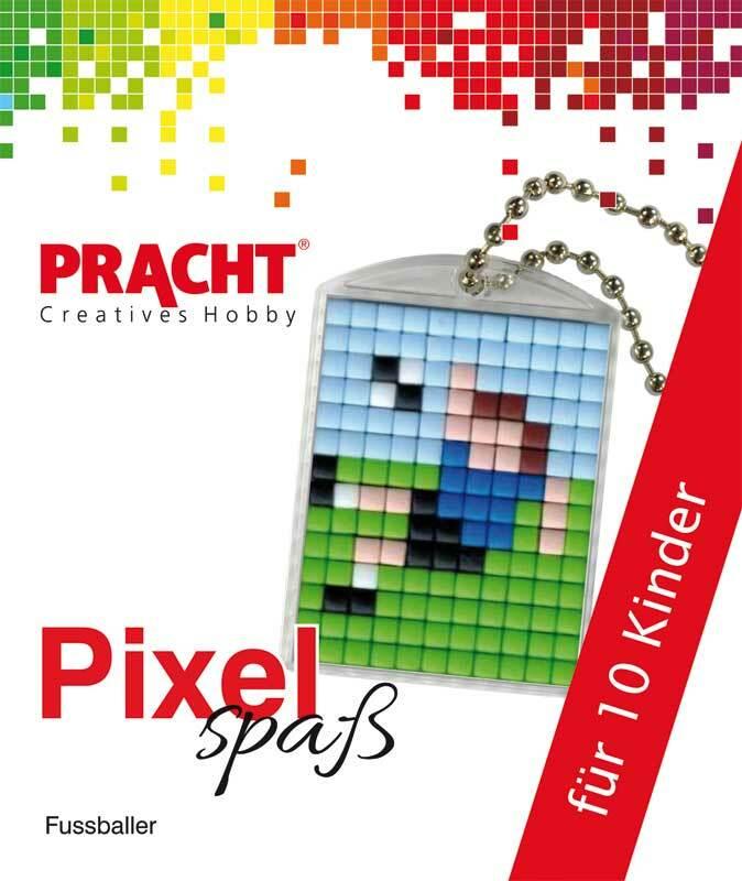 Pixelset voor 10 kinderen - voetbal