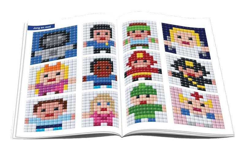 XL pixel - voorbeeldenboekje