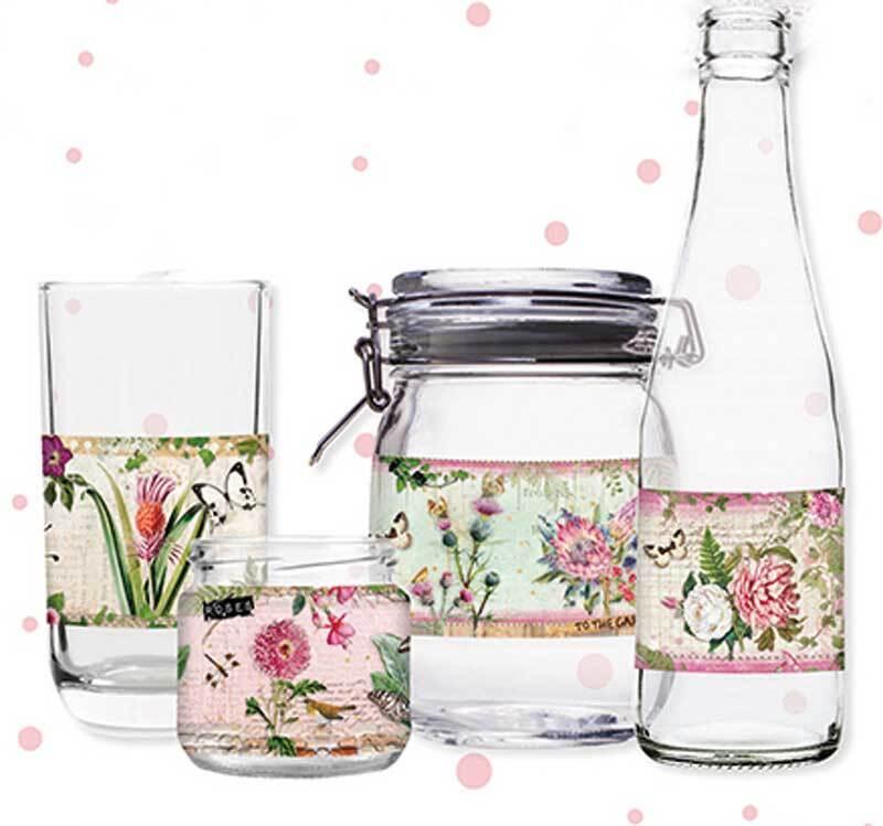 Schrumpffolien für Glas