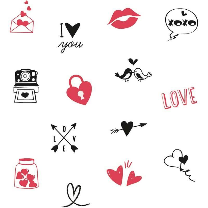 Set de tampons - Amour