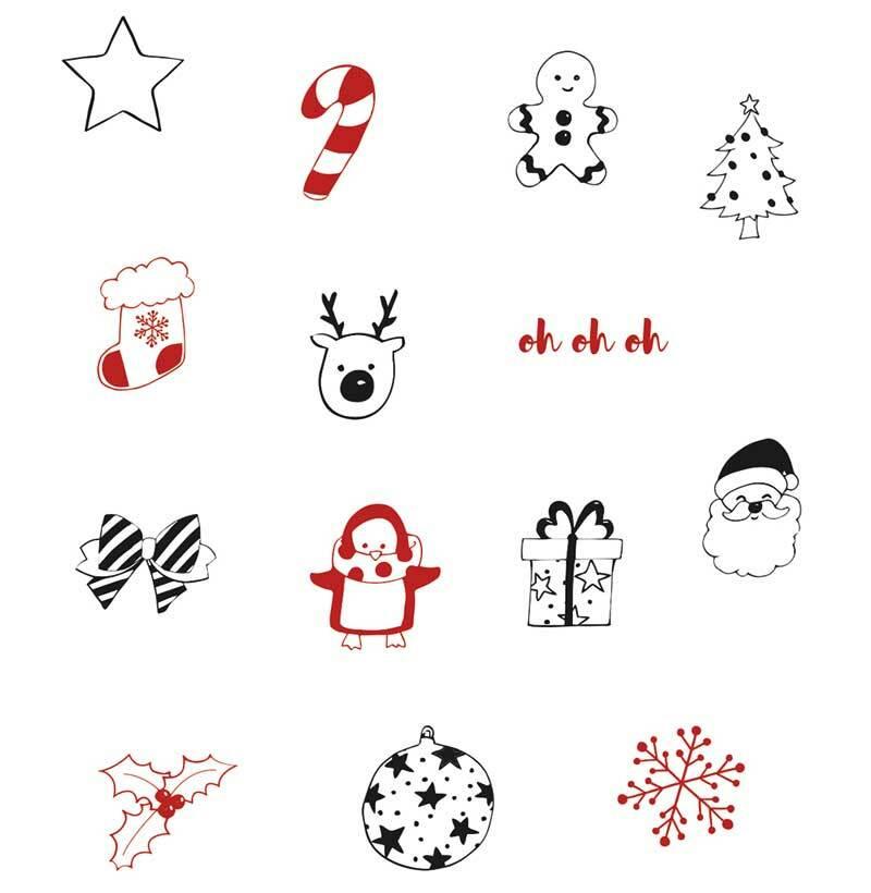 Set de tampons - Noël