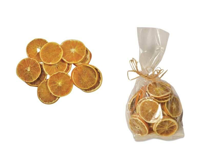Sinaasappelschijven gedroogd - 100 g