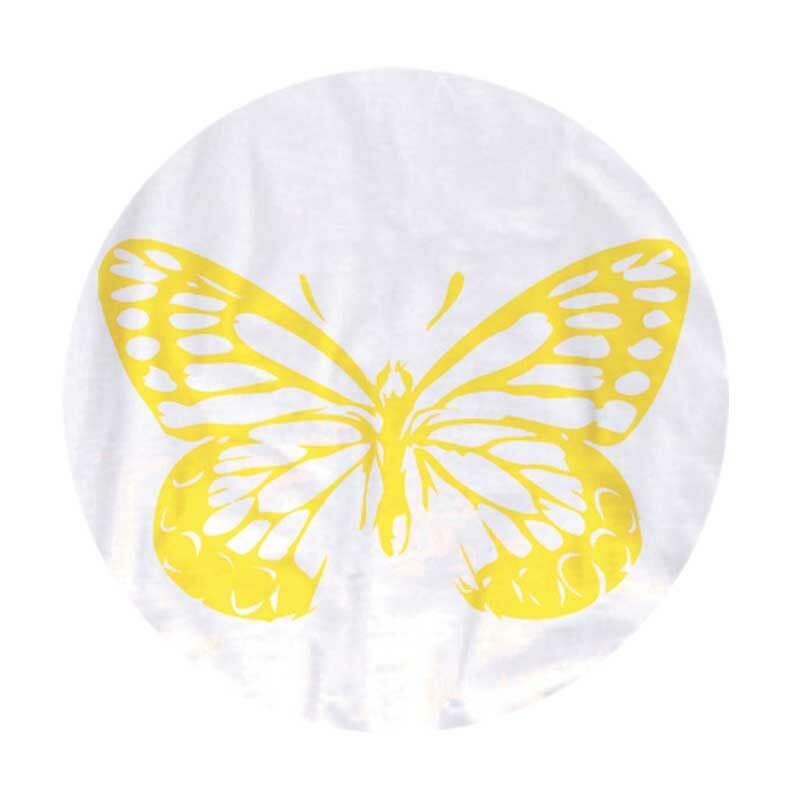 Tampon encreur - TEXTILE, jaune