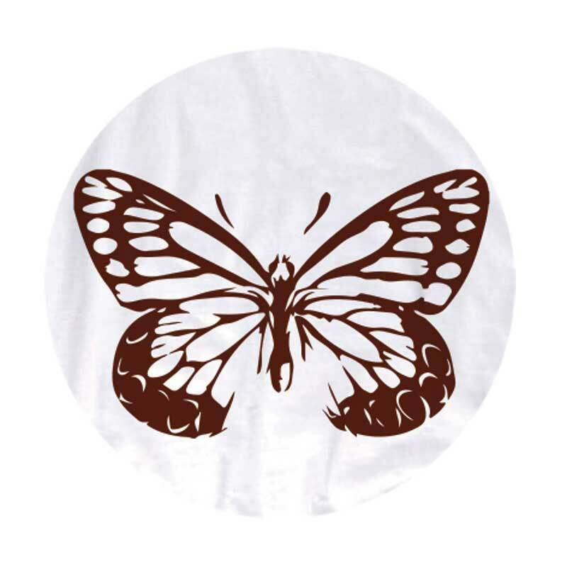Tampon encreur - TEXTILE, brun