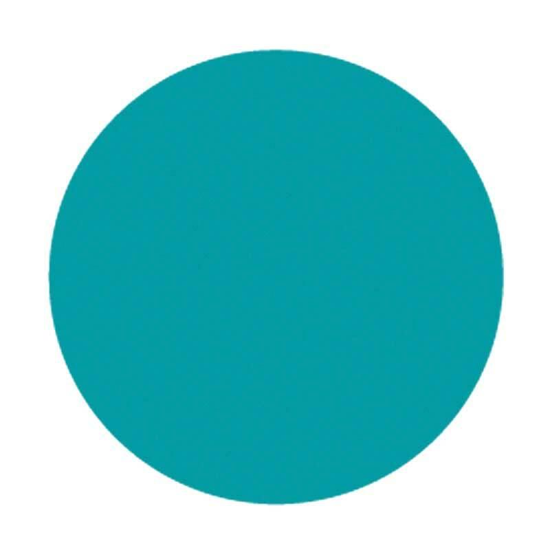 Carton pour encaustique, turquoise
