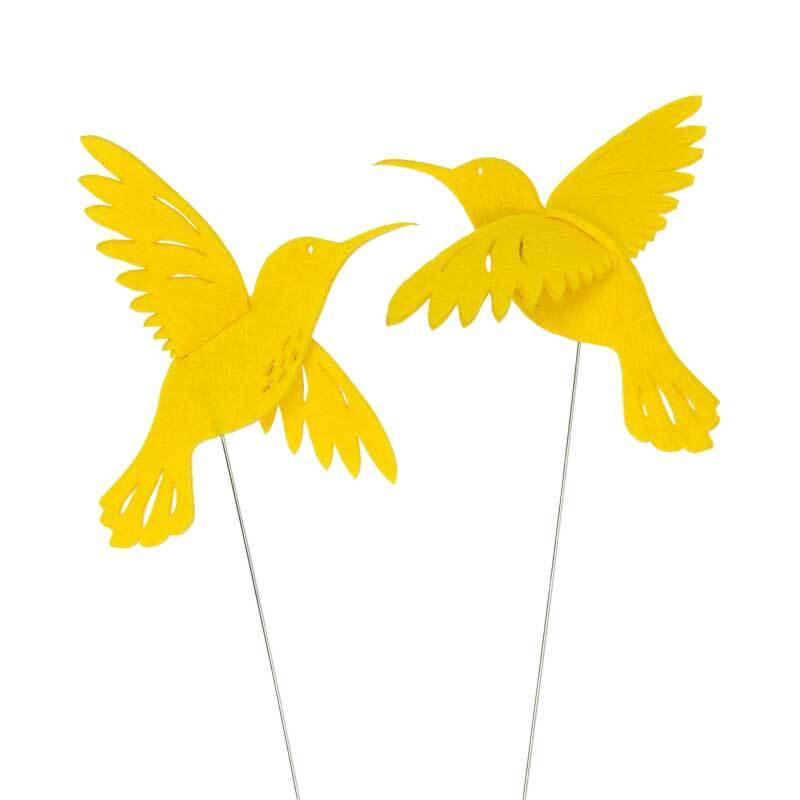 Draad steker - kolibrie, citroen