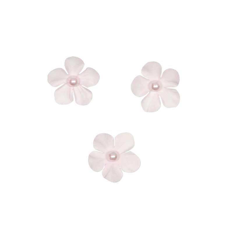Papieren-bloemen - Ø 2,5 cm, roze