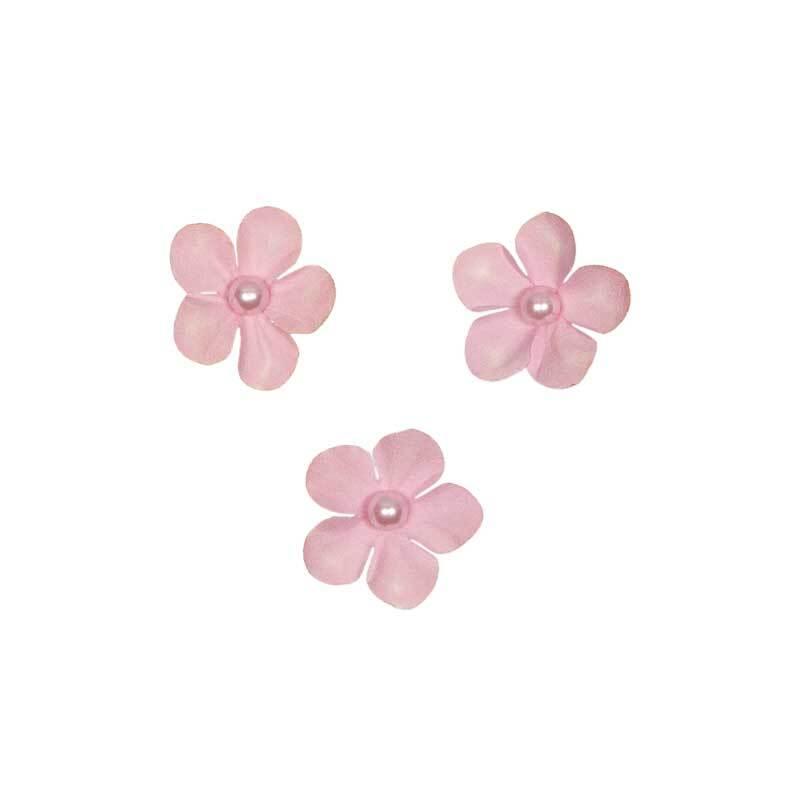 Papier-Blüten - Ø 2,5 cm, beere
