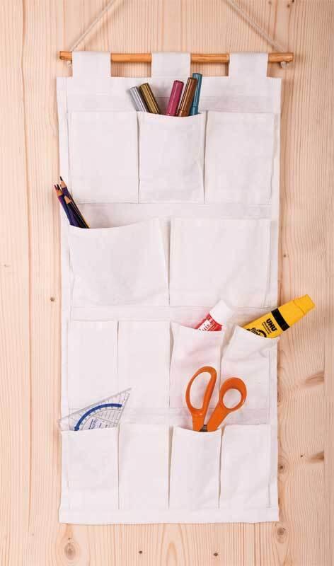 Hangende organizer, ca. 62 x 30 cm