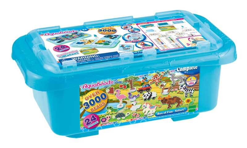 Aquabeads - Mega Bastelbox Safari