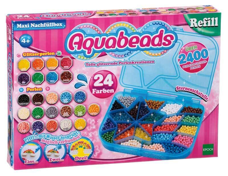 Aquabeads - maxi recharge, 2400 perles