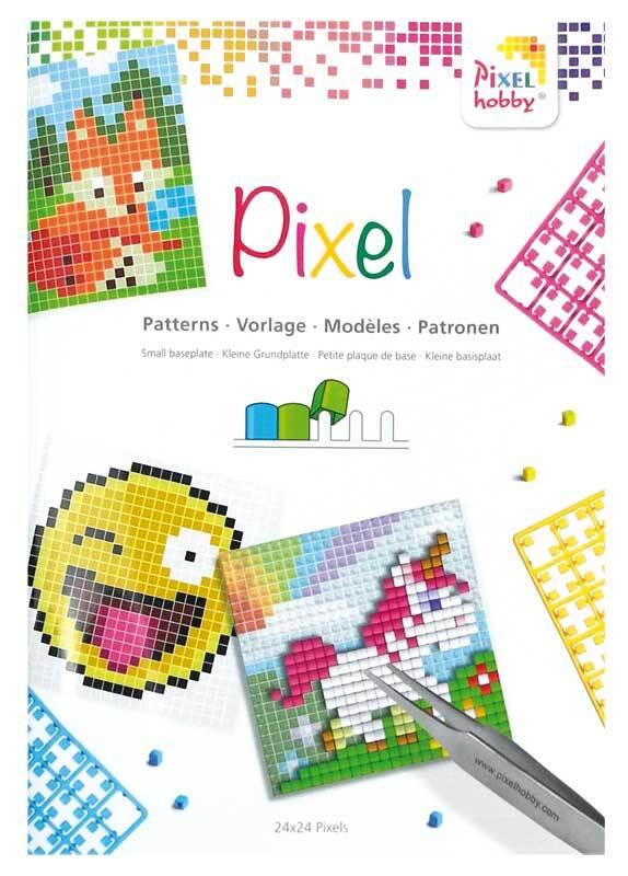 Pixel - Vorlagenheft für Grundplatte