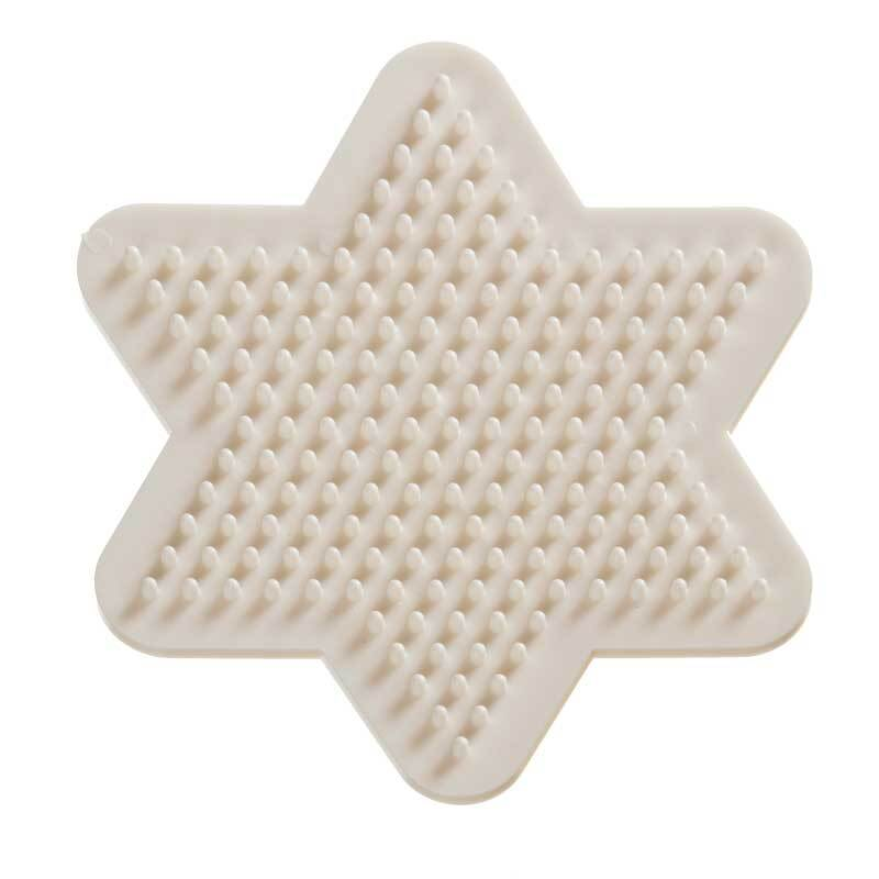 Plateau perles à repasser Bio - Etoile, 9 cm