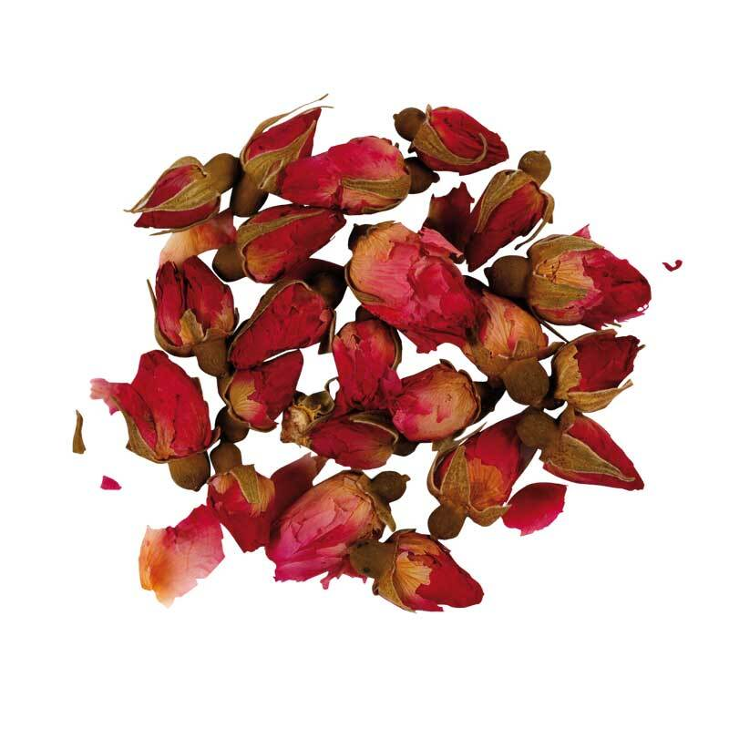 Trockenblumen - Rosenknospen, ca. 17 g
