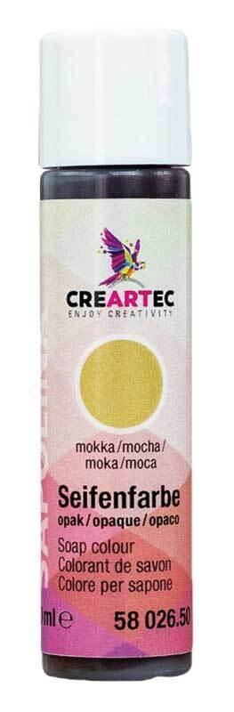 Seifenfarbe - 10 ml, mokka