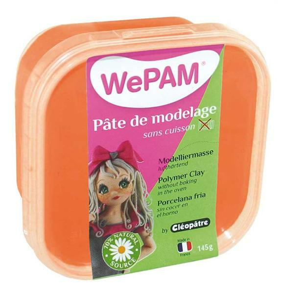 WePAM Pâte de modelage - 145 g, orange