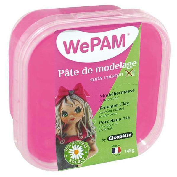 WePAM Modelliermasse - 145 g, fuchsienrosa