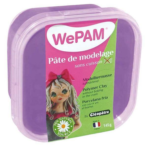 WePAM Modelliermasse - 145 g, violett