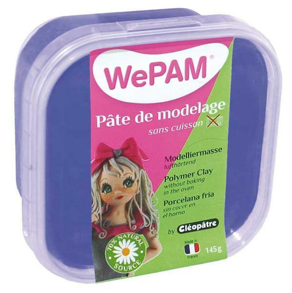 WePAM modelleermassa - 145 g, blauw